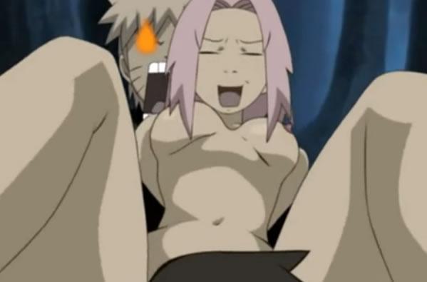 Naruto sasuke e sakura em um agito gostoso