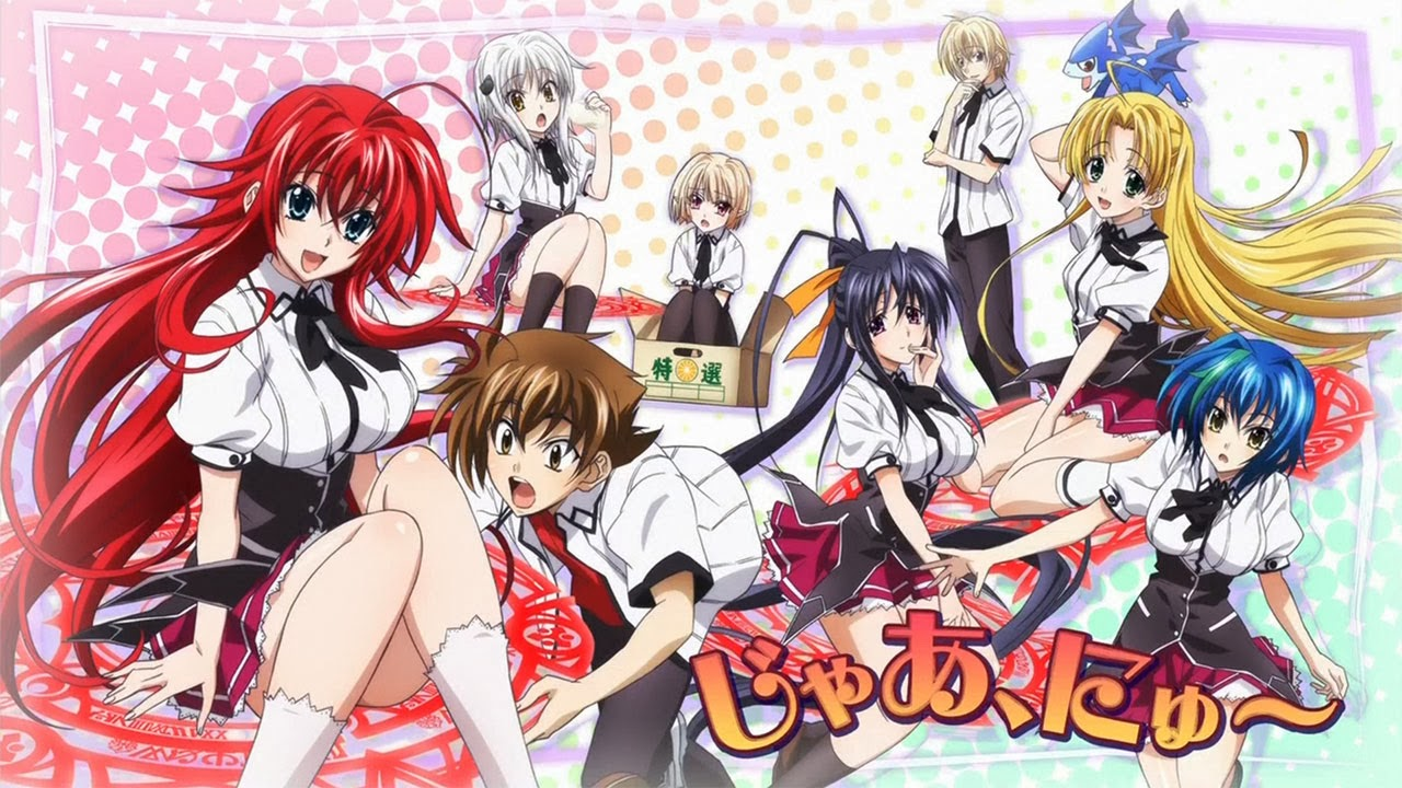 HighSchool DxD #8 Legendado em portugues