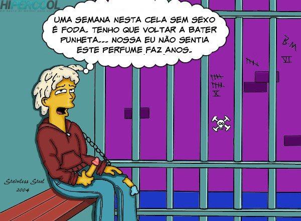Visita-da-Lisa-Os-Simpsons-2