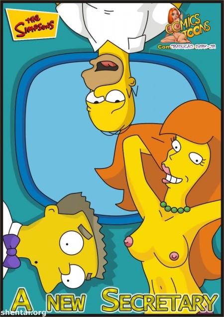 A nova Secretaria de Homer - HQ Simpsons