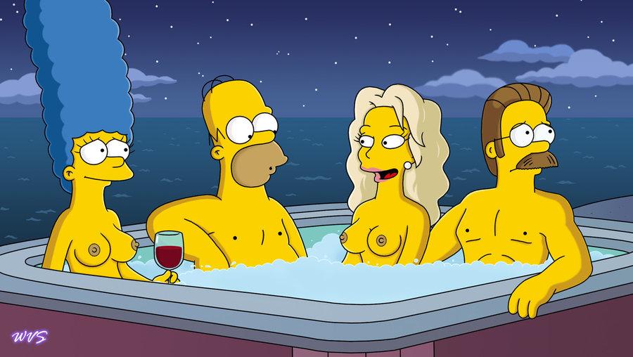Marge Simpson pelada – Fotos hentai #3