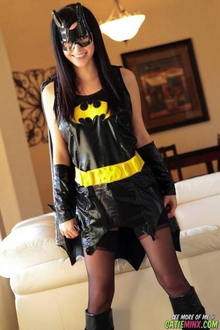 Cosplay Batgirl pelada 2