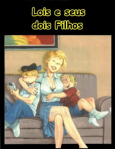 Lois e Seus 2 Filhos