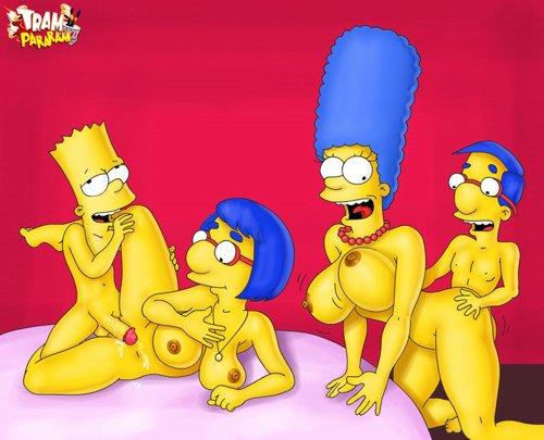 Marge Simpson pelada – Fotos hentai #4
