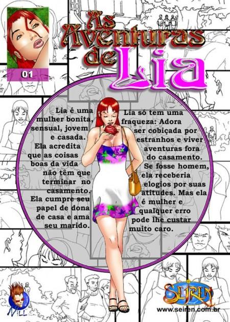 As aventuras de Lia parte 1