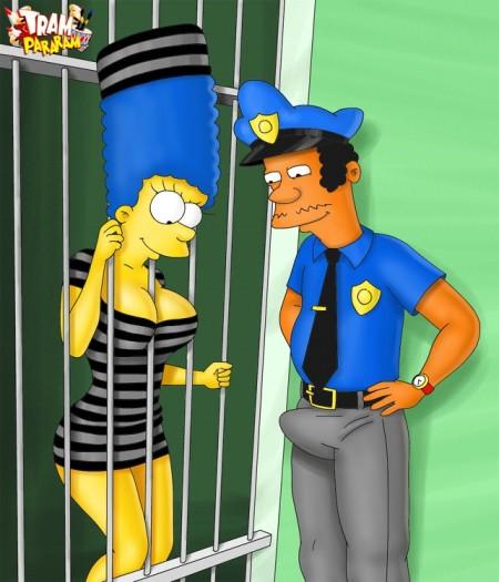 Marge Simpson pelada – Fotos hentai #7