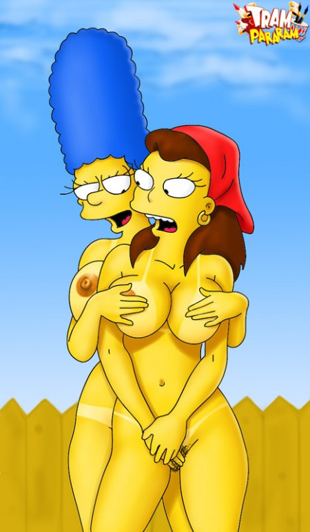 Marge Simpson pelada – Fotos hentai #8