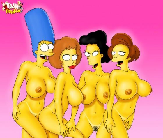 Marge Simpson pelada – Fotos hentai #10