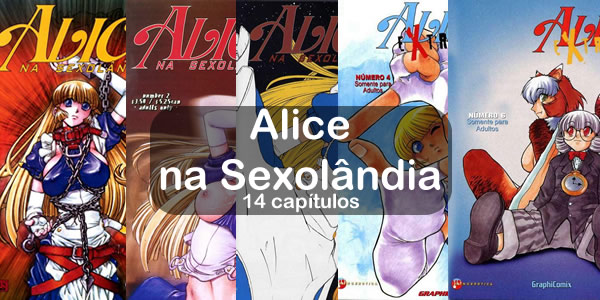 Coleção completa Alice