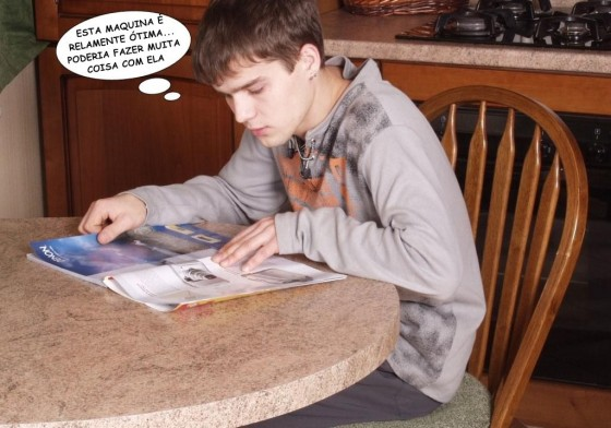 Estudando para a prova