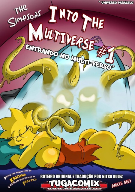 Entrando No Multiverso - Simpsons HQ