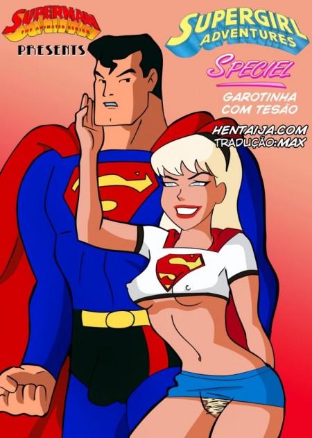 Super Girl – Garotinha com Tesão - HQ