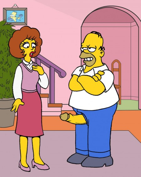 Os Simpsons - Fotos hentai
