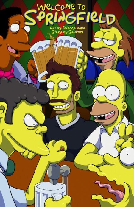 Bem vindo a Springfield - Simpsons HQ