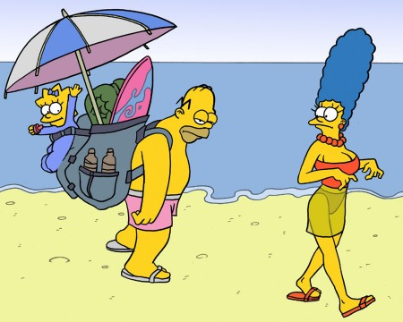 Os Simpsons – Sexo na Praia