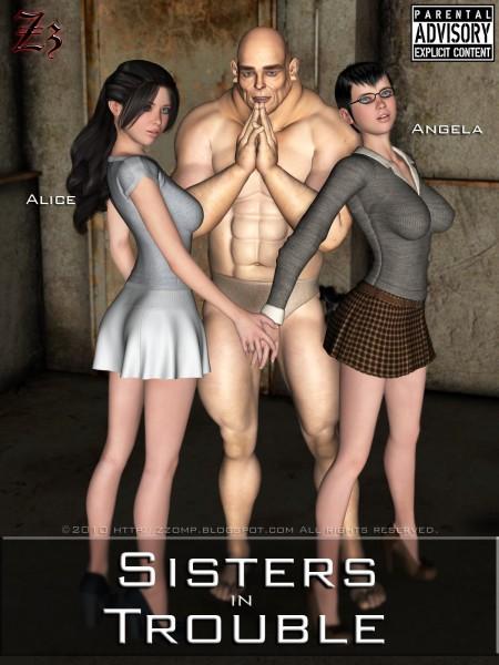 Irmãs em dificuldade - HQ