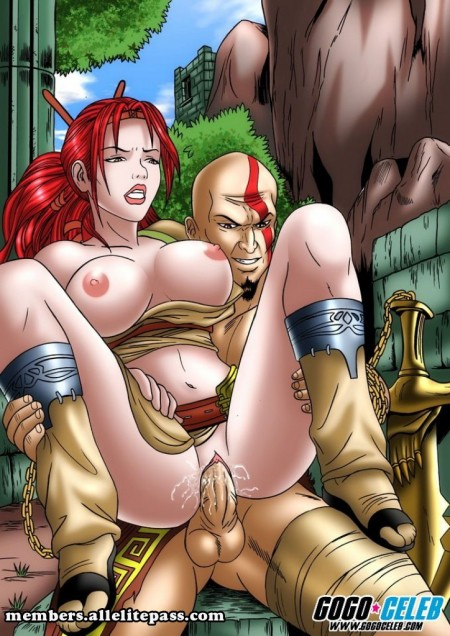 Kratos de God of War - Fotos hentai