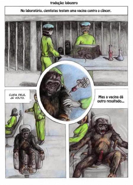 Macaco taradão - HQ