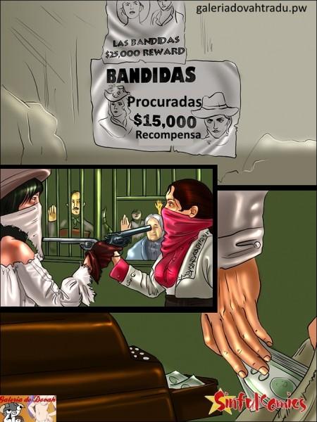 Bandidas Pistoleiras - HQ