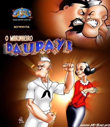 Popeye em - O professor de Bale - HQ