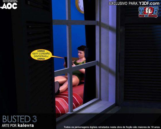 Sonhando com a mamãe - HQ 3D