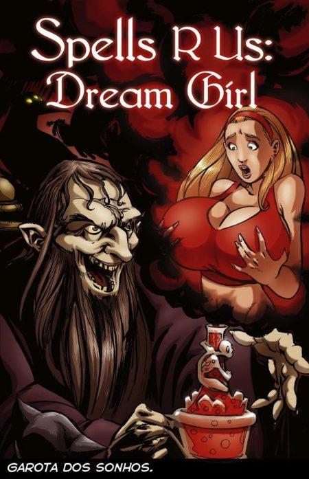 A garota dos sonhos - HQ parte 1