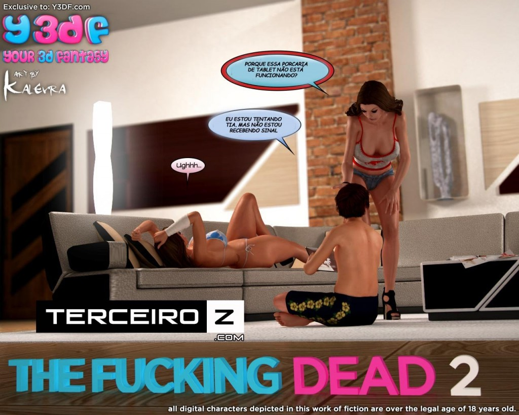 The Fucking Dead - Completamente fodido - HQ parte 2