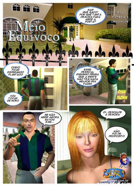 Meio Equívoco - HQ 3D