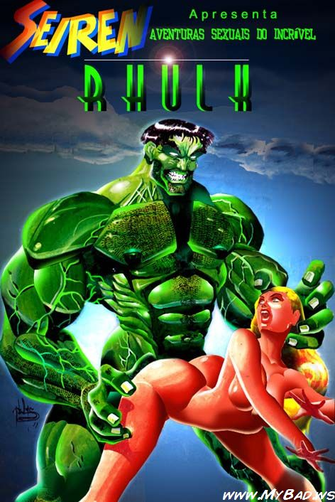 As aventuras sexuais do incrível Hulk - HQ
