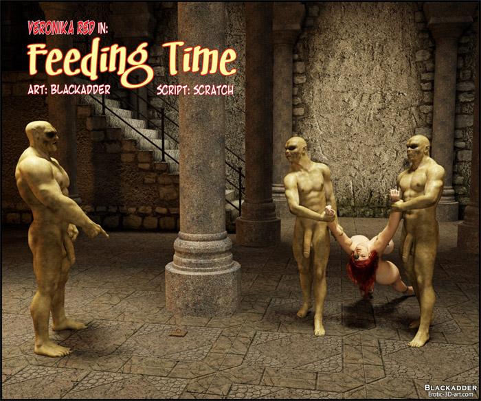 Tempo de alimentação - HQ 3D