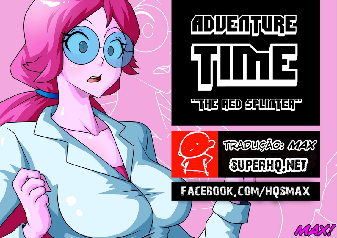 Hora de aventura - O fragmento vermelho - HQ