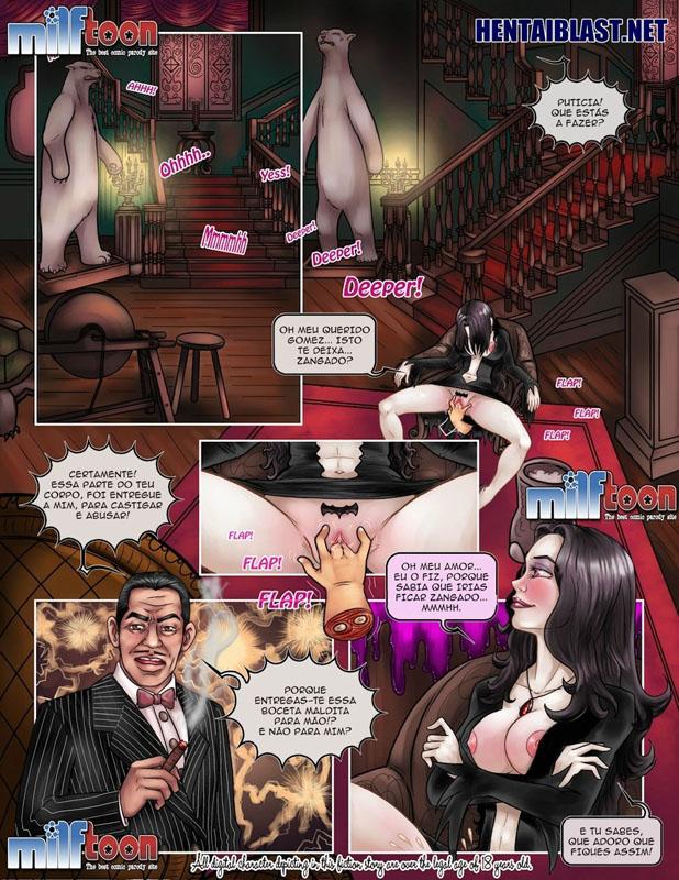 Família Addams - HQ