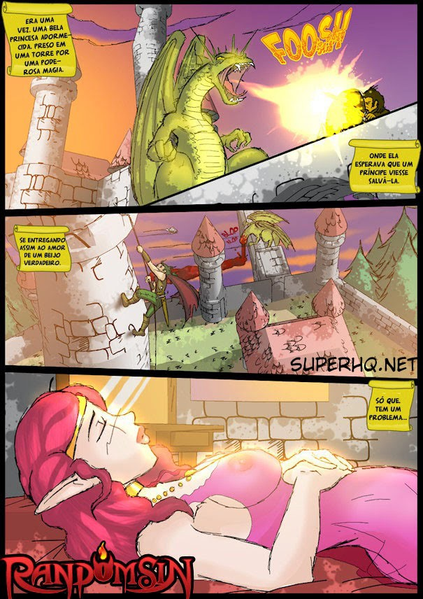 Bela adormecida safada- HQ