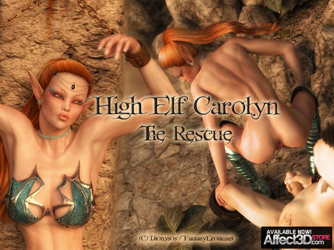 O resgate elfico - HQ