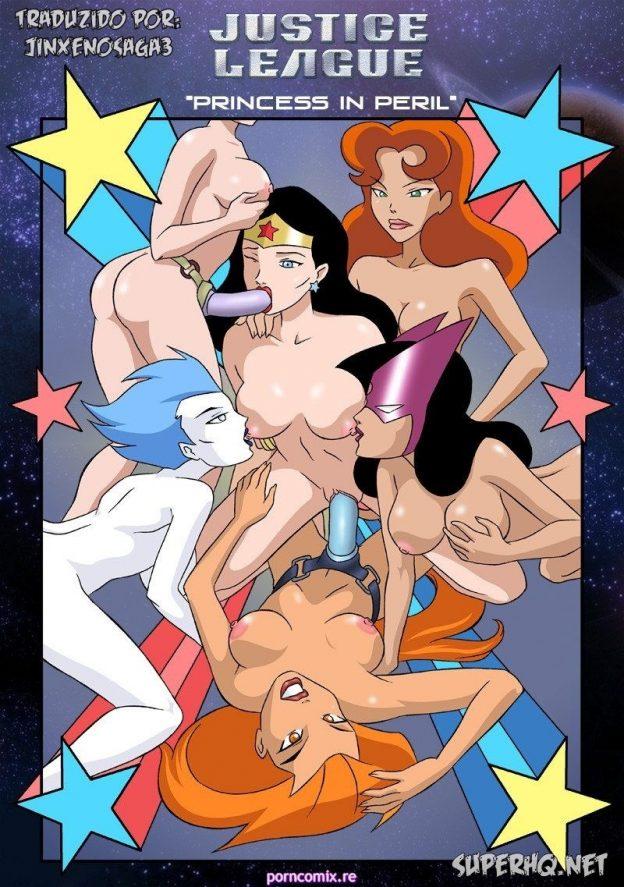 Liga da Justiça - Princesas em Perigo Hentai HQ