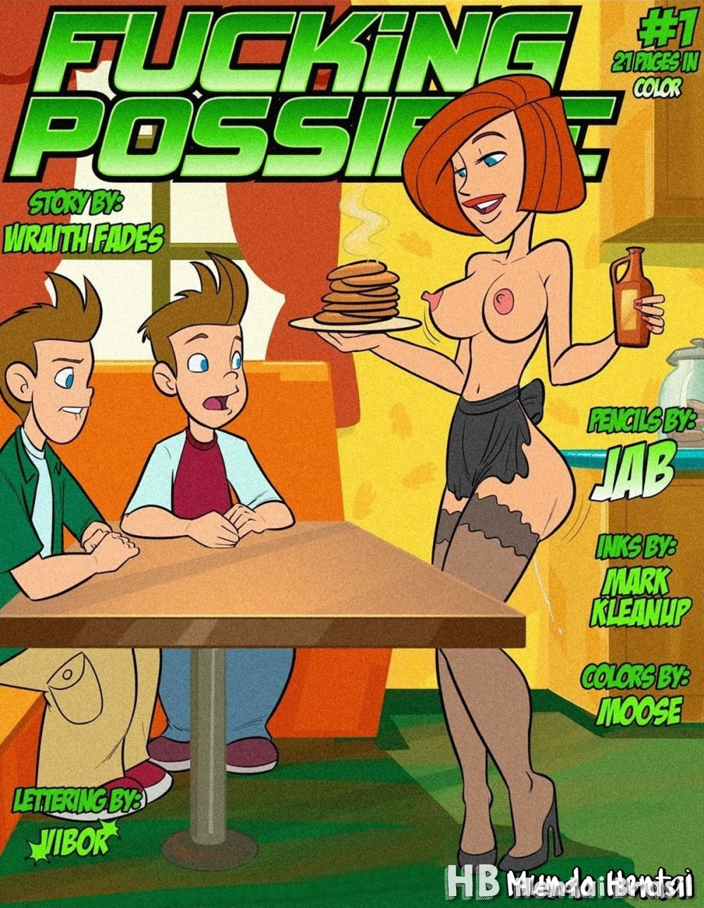 Kim Possible - Fucking Possible #1 Hentai HQ
