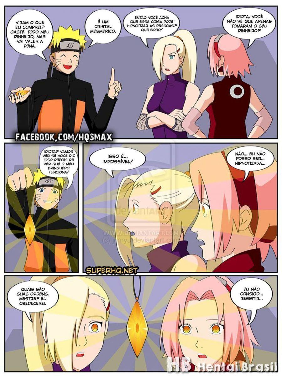 Naruto E O Cristal Mágico Hentai HQ