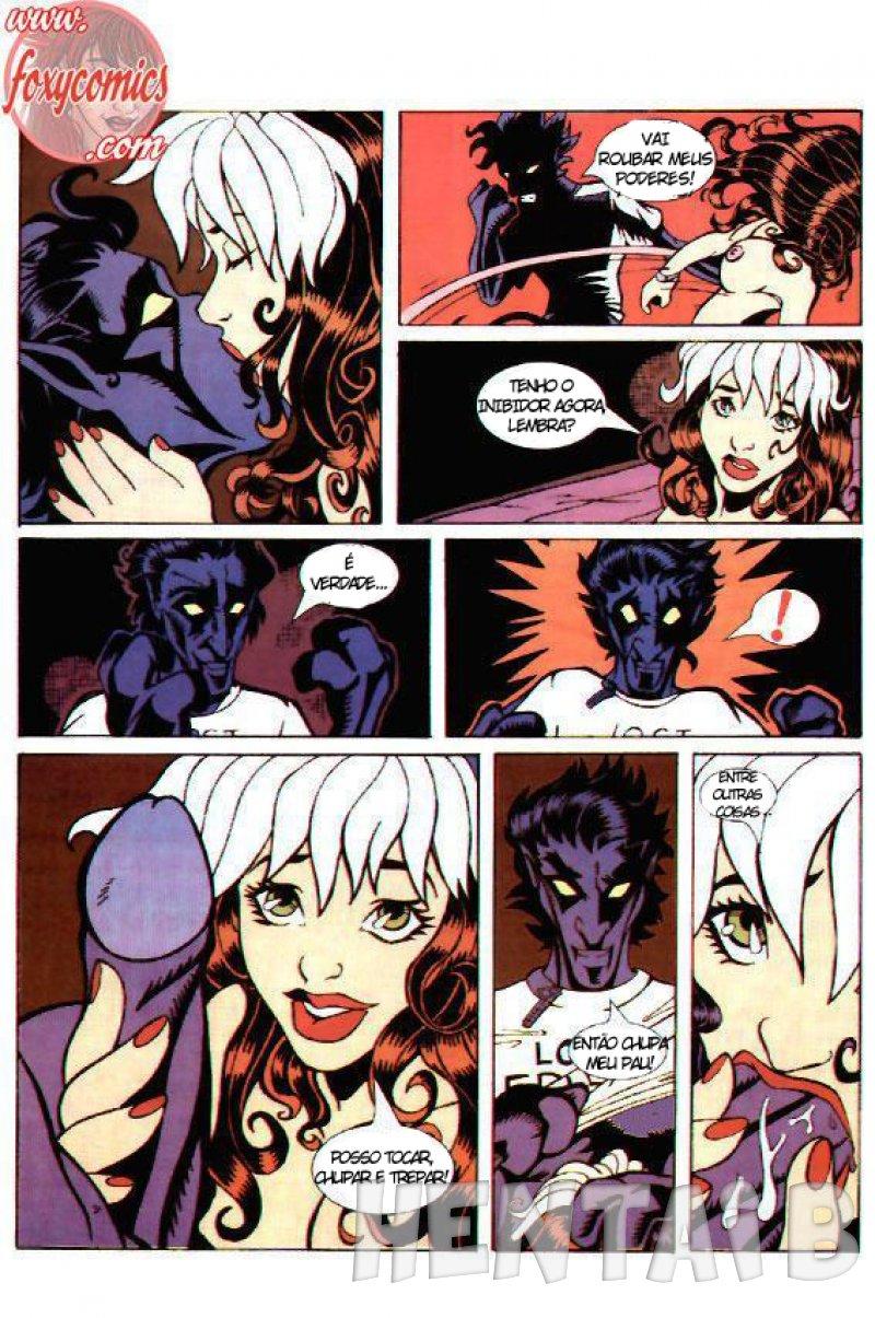X Men: Patrulha Sexual