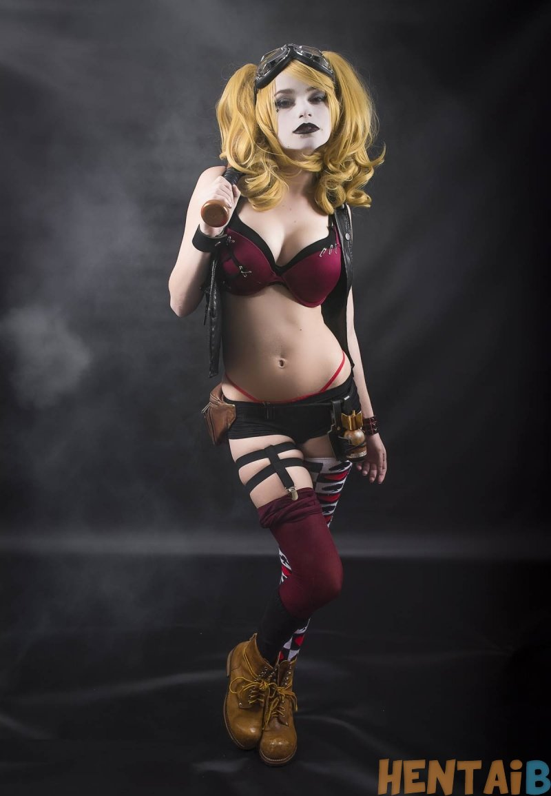 Harley Quinn   Cosplay Hentai