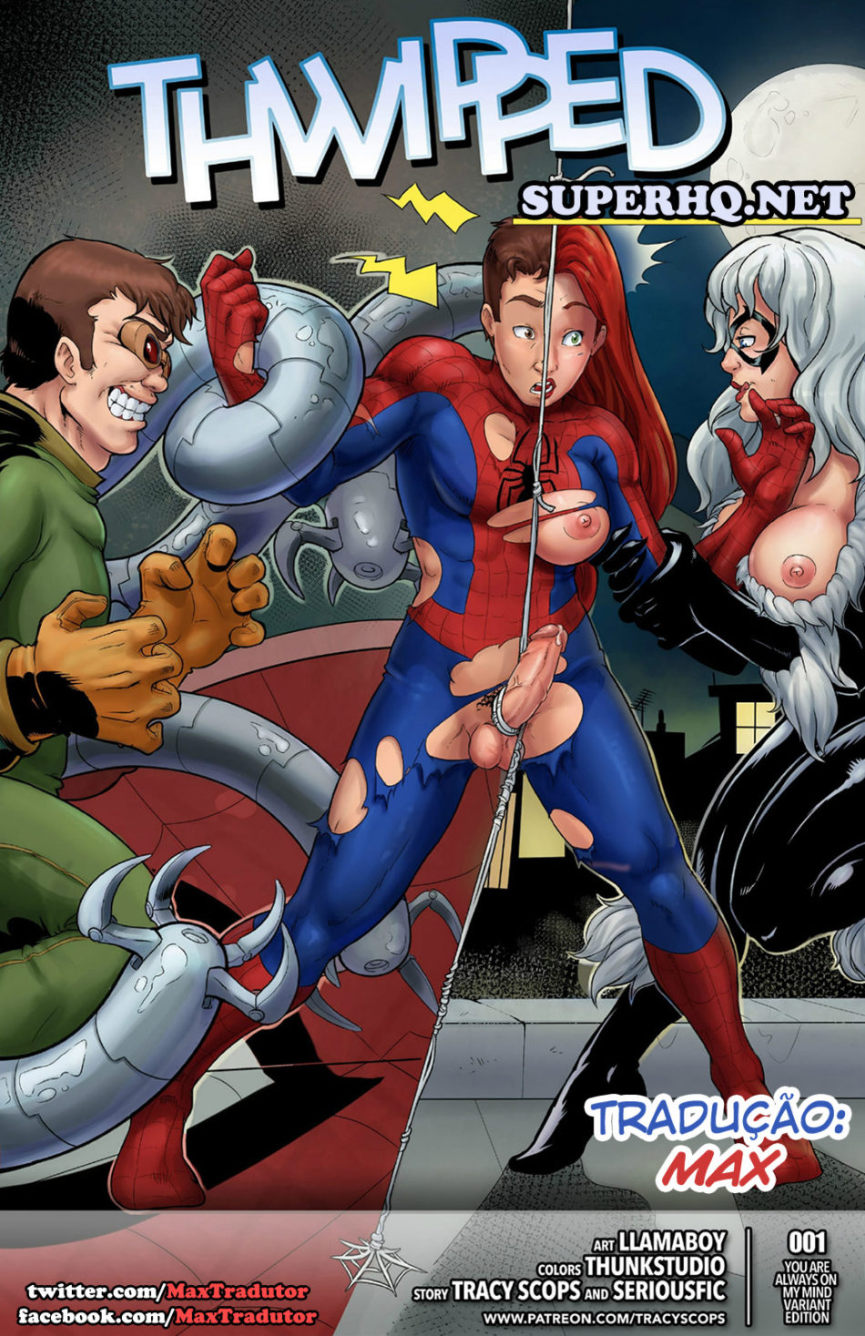 Spider-Man Hentai - The Sinister Six