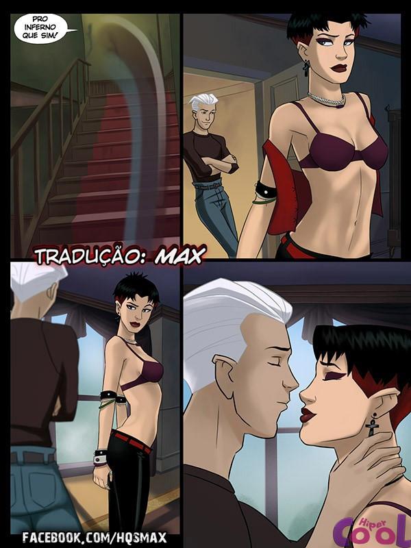 Wanda pagando boquete pro Pietro - X-Men Hentai